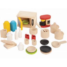 PlanToys Dollhouse Kitchen Equipment