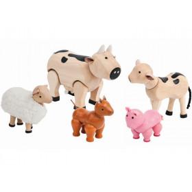 PlanToys Dollhouse Farm Animals
