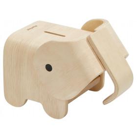 PlanToys Wooden Money Box ELEPHANT