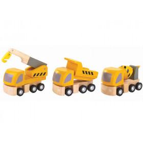 Plantoys Vehicle Set HIGHWAY MAINTENANCE