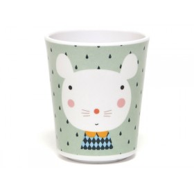 Melamine Cup Mouse Drops by Petit Monkey