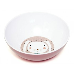 Melamine Bowl Rabbit Drops by Petit Monkey