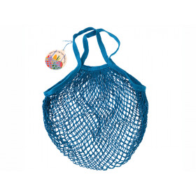 Rex London Organic Shopping Net Bag GREEK BLUE