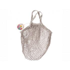 Rex London Organic Shopping Net Bag PALE GREY