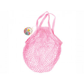 Rex London Organic Shopping Net Bag LIGHT PINK