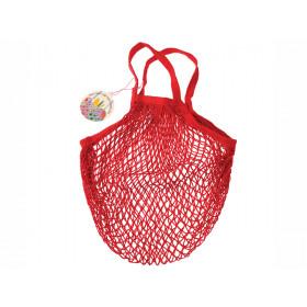 Rex London Organic Shopping Net Bag RED