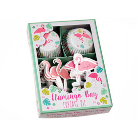 Rex London Cupcake Kit FLAMINGO