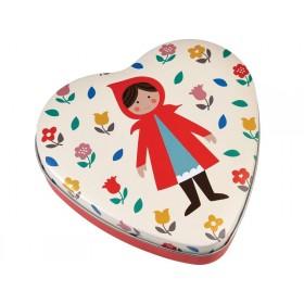 Rexinter tin box Red Riding Hood