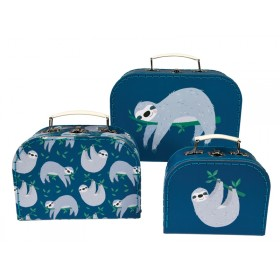 Rex London suitcase set SYDNEY THE SLOTH