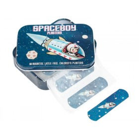 Rexinter Plasters in tin Spaceboy