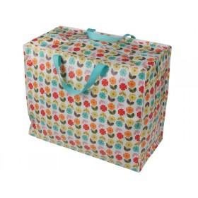 Jumbo storage bag Midcentury Poppy