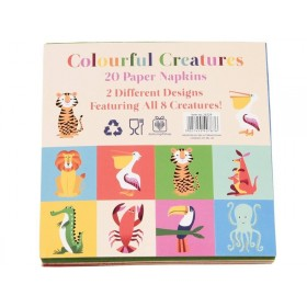 Rexinter paper napkins Colourful Creatures