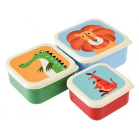 Rexinter Snack Boxes Colourful Creatures