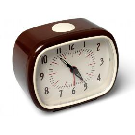 Retro clock in chocolate