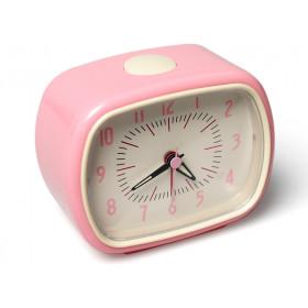 Retro clock in pink