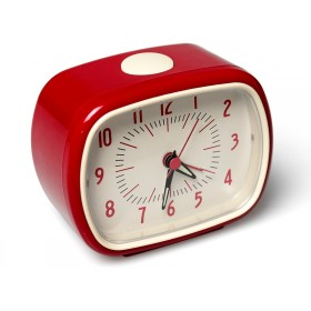 Retro clock in red