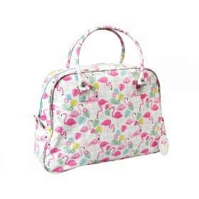 Rexinter weekend bag FLAMINGO