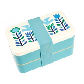 Rex London Bento Box FOLK DOVES big