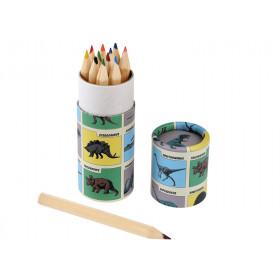 Rexinter 12 Colour Pencils DINOSAURS
