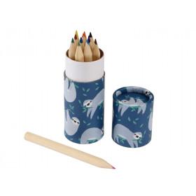 Rexinter 12 Colour Pencils SYDNEY the SLOTH