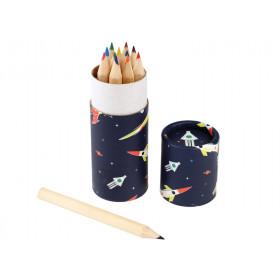 Rexinter 12 Colour Pencils SPACE