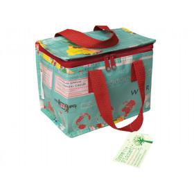 Rex London Lunch Bag VINTAGE WORLD MAP