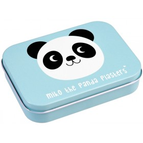 Rex London Plasters in tin MIKO THE PANDA
