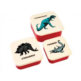 Rex London 3 Snack Boxes DINOSAUR