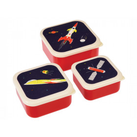 Rex London 3 Snack Boxes SPACE AGE
