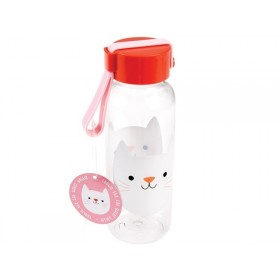 Rex London kids water bottle small COOKIE THE CAT