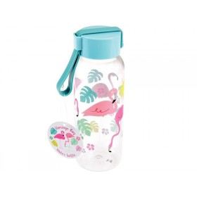 Rex London kids water bottle small FLAMINGO BAY