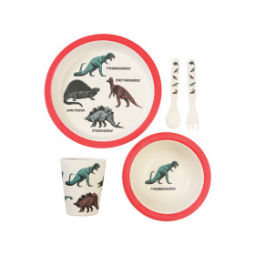 Rex London Bamboo Tableware Set DINOSAURS