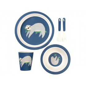Rex London Bamboo Tableware Set SLOTH