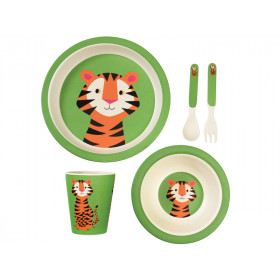 Rex London Bamboo Tableware Set TIGER