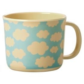 RICE baby cup cloud print