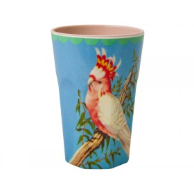 RICE Melamine Latte Cup Cockatoo