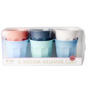 "RICE Melamine Cups ""Happy 21st!"" Colors"