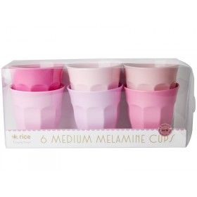 RICE Melamine Cups SOP Colors