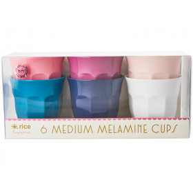 RICE Melamine Cups SIMPLY YES Colors
