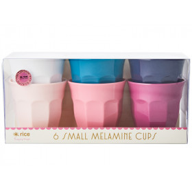 RICE Small Melamine Cups SIMPLY YES Colors