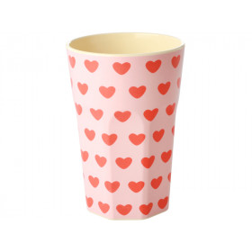 RICE Tall Melamine Cup SWEET HEARTS
