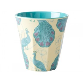RICE Melamine Cup PEACOCK