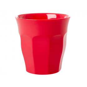 RICE Melamine Cup Red Kiss