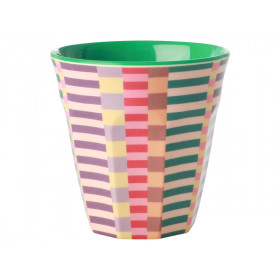 RICE Melamine Cup SUMMER STRIPES