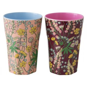 RICE Melamine Latte Cups LUPINS