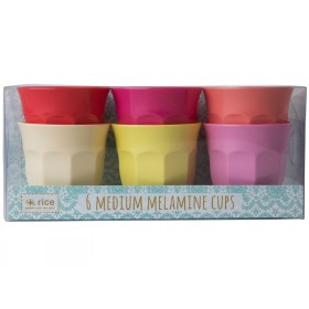 RICE Melamine Cups SUNNY Colors