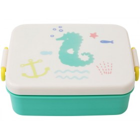 RICE lunchbox OCEAN LIFE GREEN
