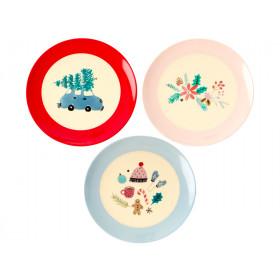 RICE Dessert Plate X-Mas 2019