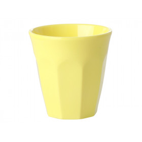 RICE Melamine Espresso Cup light yellow