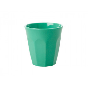RICE Melamine Espresso Cup emerald green